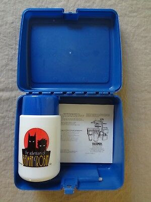 1995 The Adventures of Batman and Robin Thermos Lunch Box Set