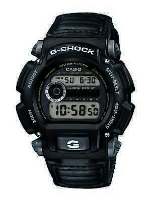 Casio Men's G-Shock Quartz Chronograph Alarm Digital Grey 48Mm Watch Dw9052v-1