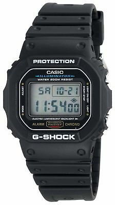 Casio G-Shock Men's Quartz Digital Black Resin Sport 47mm Watch DW5600E-1V