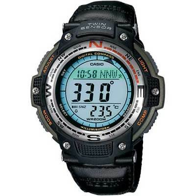 Casio Men's Quartz Digital Compass Twin-Sensor Sport 47.5mm Watch SGW100B-3V