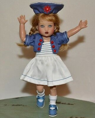"Riley Kish Doll Ahoy Riley 7 1/2"" Articulated Limited Edition Of Only 300 Made"
