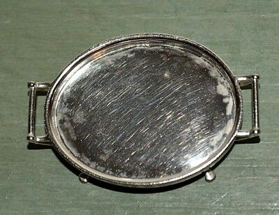 Miniature Sterling Silver Tray Dollhouse 1:12 Artist Peter Acquisto