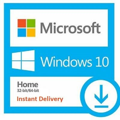 Instant Windows 10 Home 32 & 64 Bit Activation License Key Code - Scrap Pc