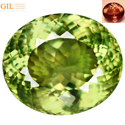 17.29Ct GIL Certified Oval Cut 16 x 14 mm AAA Color Change Turkish Diaspore