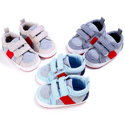 Toddler Baby Boys Spring Autumn Cotton Cloth Soft Crib Shoes Casual Sneakers Set