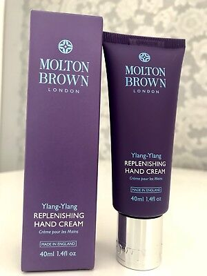 Molton Brown Replenishing Ylang-Ylang Hand Cream Brand New & Sealed/Boxed 40ml