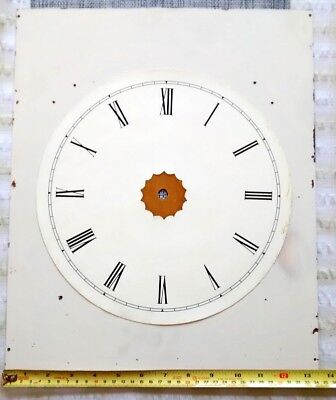 Brass clock dial for restoration.