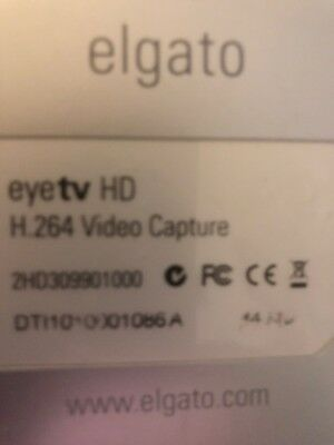 Elgato EyeTV HD DVR for HD Cable and Satellite TV NO REMOTE