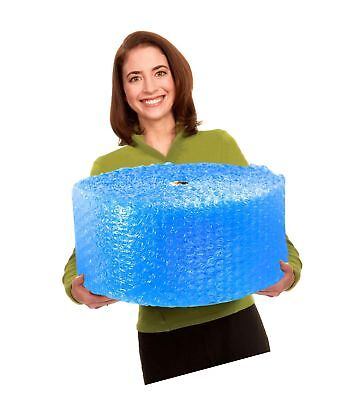 EcoBox Bubble Cushion Wrap 12-Inch Wide x 125-Feet Long, with 1/2-Inch Large ...