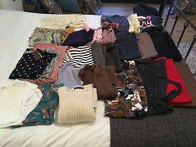 Ladies Clothes, Size UK 8, Mixed Bag, 28 Items, Next, SuperDry +++