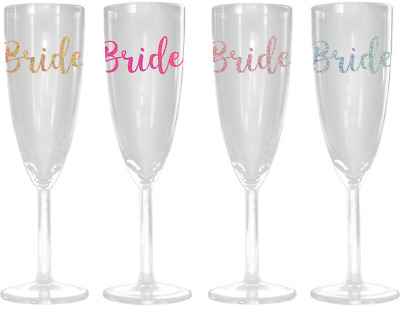 Personalised Name Vinyl Decal Sticker Champagne Wine Glass Bauble Water Bottle 2
