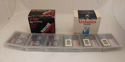 Lot of 6 New DC 2120 and DC 2000 Mini Data Cartridges
