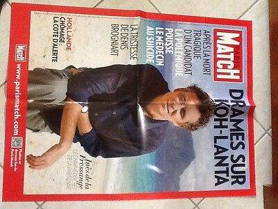 Rare Affiche Collector Grd Format Paris Match KOH-LANTA Avril 2013