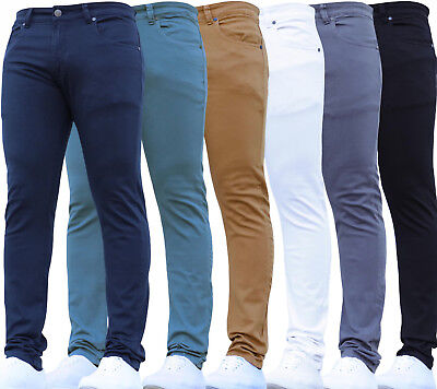 New Designer Kids Boys Stretch Casual Adjustable Waist Jeans Chinos School Pants