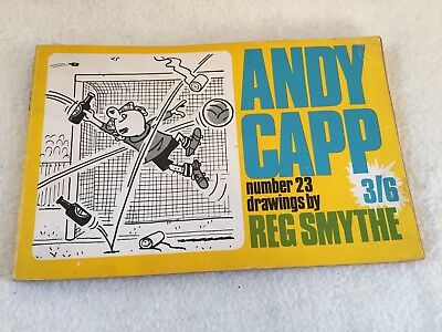 The Andy Capp Book By Reg Smythe Vintage Book Cartoon Strip Classic
