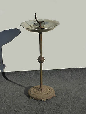 Antique Vintage French Provincial Style ASHTRAY Birdbath Feeder
