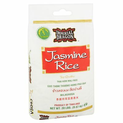 Imperial Dragon Jasmine Rice, 20 Lb