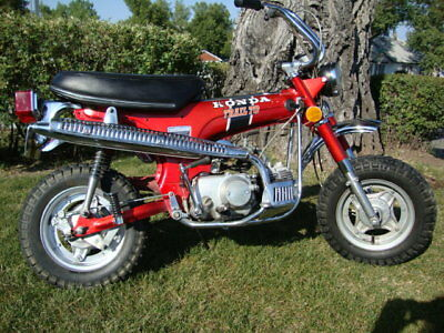 1972 Honda CT  A Rare Find Indeed!