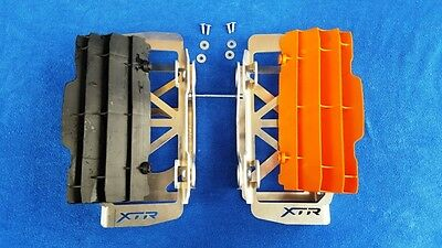 Ktm  Husqvarna   2017 / 2018 / 2019 Radiator Protection Guard  Braces  4T  2T
