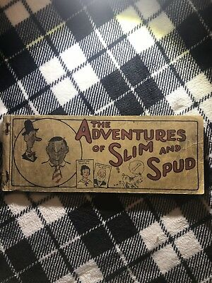 The Adventures of Slim and Spud dated 1924 chicago, 104 pages Early comic book