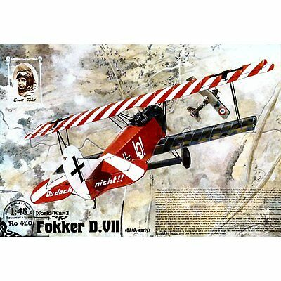 Roden 420 Fokker DVII OAW Early Production 1/48 plastic scale model kit