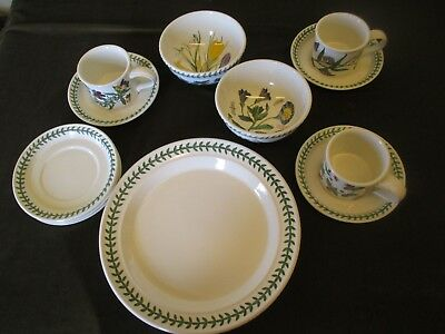 Fine Selection Of Portmeirion  Table And Dinner Ware Botanic Garden Design