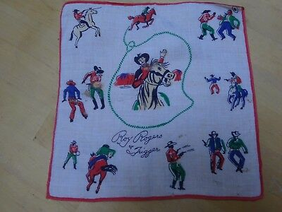 Roy Rogers and Trigger Children's Cotton Handkerchief