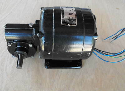 Bodine Model: NSI-54RL Conveyor belt Gear  Motor,