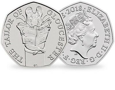"New 50p ""The Tailor Of Gloucester"""
