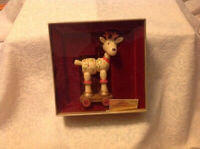 Vintage Hallmark Tree Trimmer Collection 1977 Yesteryears Reindeer w/ tag