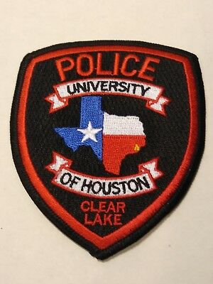 University of Houston Clear Lake Police Officers Official Uniform Patch