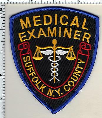 Suffolk County Medical Examiner (New York) Shoulder Patch