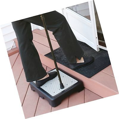 "Support Plus Indoor/Outdoor Riser Step 3 1/2"" High - Non-Slip All Weather Top..."