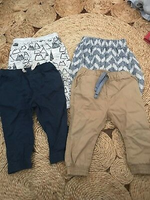 Baby Boys 6-12 Months 0 Pants Bundle Seed Bonds