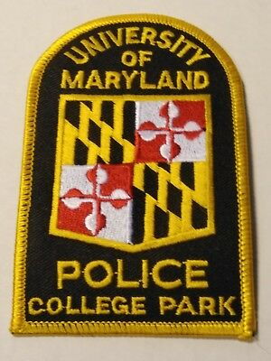 University of Maryland College Park Police Officers Official Uniform Patch