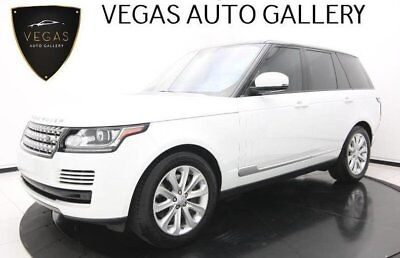 2016 Land Rover Range Rover HSE Meridian Sound, Fuji White, & Vision Assist