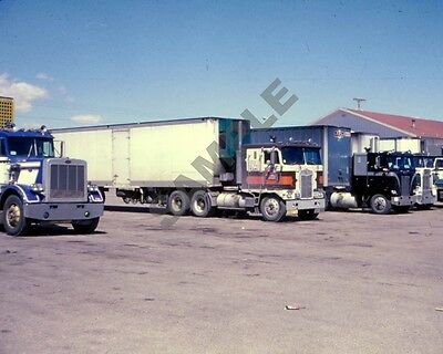 "Peterbilt, Kenworth, Western Truckstop Semi Truck Rig Trucking 8""x 10"" Photo 9"