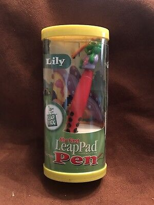 My First Leap Frog Leap Pad Replacement Pen Red Lily New