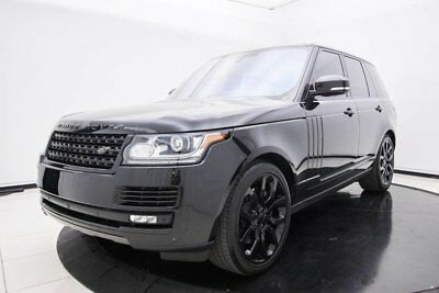 2016 Land Rover Range Rover Supercharged Rear Entertainment Package, Vision Assist & Supercharged