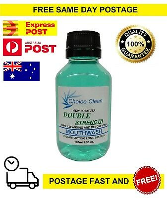 Drug Detox Mouthwash 100ml (3.3 fl.oz) - Pass your saliva/swab drug test