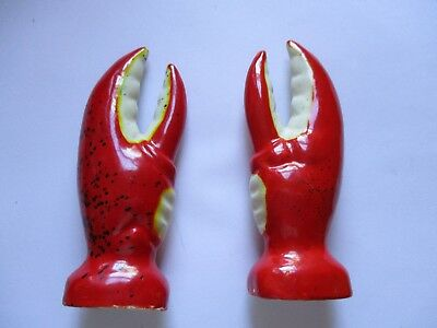 Lobster Claws  Salt and Pepper Set Souvenir Old Orchard Beach Maine