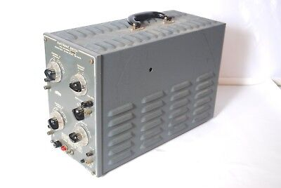 Vintage Dumont Tube Amplifier Electronic Switch Type 330 4X07 115 230 Volts
