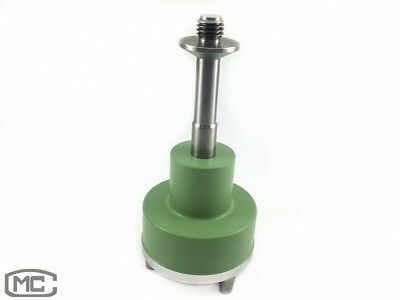 Green Three-Jaw Tribrach Adapter With 5/8 Thread For GPS