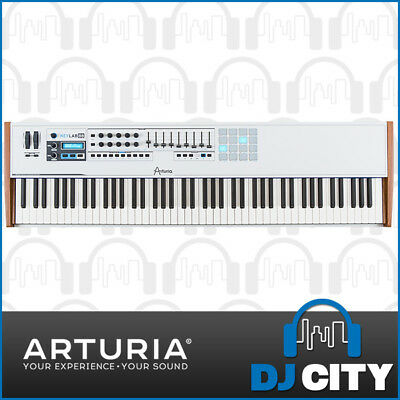 Arturia Keylab 88 Note Hybrid Synth Midi Controller Weighted Hammer Keyboard