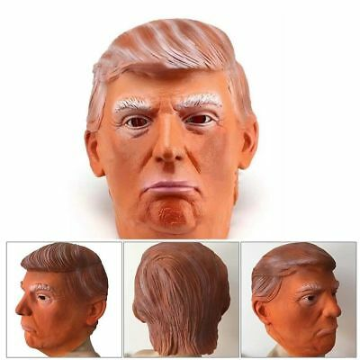 USA American President Donald Trump Latex Head Mask For Halloween Party Cosplay