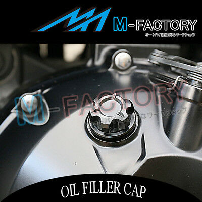 Billet Black CNC T-Axis Engine OIL Filler Cap Fit Yamaha FZ6 S/N Fazer 600 04-16
