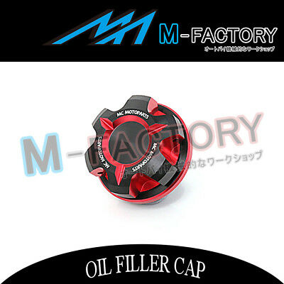 Billet Red CNC T-Axis Engine OIL Filler Cap Fit Yamaha XSR 700 15-2017 15 16 17