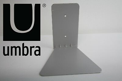 Umbra Concealed Steel Floating Bookshelf Silver