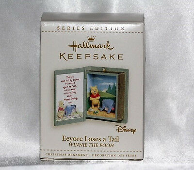 Hallmark Ornament Pooh Book Eeyore Loses a Tail