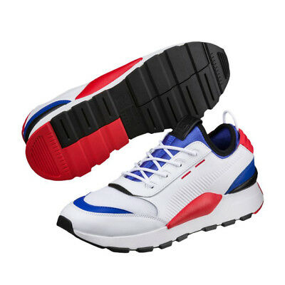 Details about BTS PUMA RS 0 SOUND 36689001 01 White Dazzling Blue High Risk Red with Track #
